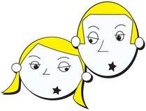 Estrellas del rock ilustración del vector