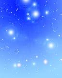 Estrellas distantes que brillan stock de ilustración