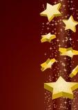 Estrellas el caer Fotografía de archivo