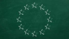 Estrellas en círculo libre illustration