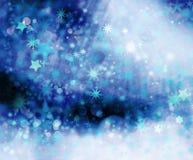 Estrellas en diversas dimensiones de una variable Imagen de archivo libre de regalías