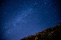 Estrellas en el cielo Foto de archivo libre de regalías