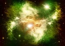 Estrellas en el cielo nocturno Imágenes de archivo libres de regalías