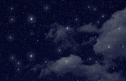 Estrellas en el espacio Foto de archivo libre de regalías