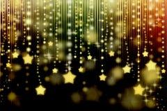 Estrellas en fondo abstracto stock de ilustración