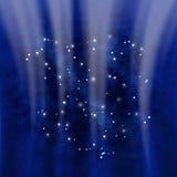 Estrellas en la galaxia Fotos de archivo libres de regalías