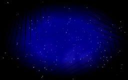 Estrellas en la noche Fotos de archivo