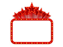Estrellas estupendas del casino Foto de archivo libre de regalías