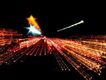 Estrellas fugaces Fotografía de archivo