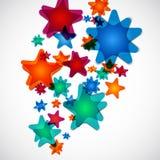 Estrellas fugaces Imagen de archivo libre de regalías