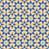 Estrellas geométricas abstractas stock de ilustración