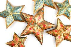 Estrellas grandes y pequeñas Imágenes de archivo libres de regalías