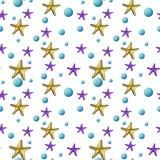 Estrellas inconsútiles Foto de archivo