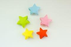Estrellas olorful del ¡de Ð Imagen de archivo