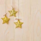 Estrellas ornamentales Imagen de archivo libre de regalías