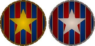 Estrellas patrióticas Fotos de archivo