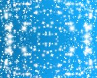 Estrellas que brillan stock de ilustración