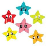 Estrellas que muestran emociones libre illustration