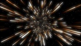 Estrellas que vuelan ilustración del vector