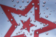 Estrellas reflejadas Fotografía de archivo