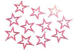 Estrellas rojas Imagen de archivo