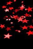 Estrellas rojas Fotografía de archivo libre de regalías