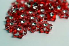 Estrellas rojas Foto de archivo libre de regalías
