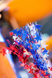 Estrellas rojas, blancas, y azules Imagen de archivo libre de regalías