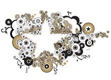 Estrellas y círculos Imagen de archivo