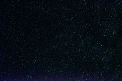Estrellas y fondo del universo de la noche del cielo del espacio exterior de la galaxia Imagen de archivo