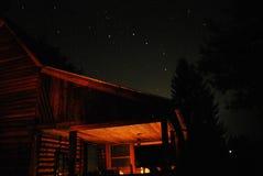 Estrellas y velas Foto de archivo libre de regalías