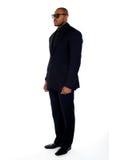 Estrellazo del hombre de negocios africano joven foto de archivo