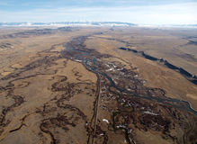 Estremità del Great Plains Fotografia Stock