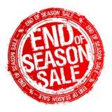 Estremità del timbro di gomma di vendita di stagione royalty illustrazione gratis