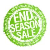 Estremità del timbro di gomma di vendita di stagione illustrazione vettoriale