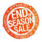 Estremità del timbro di gomma di vendita di stagione illustrazione di stock