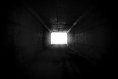 Estremità del tunnel Immagini Stock