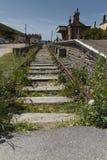 Estremità della linea (ferrovia) Immagini Stock Libere da Diritti