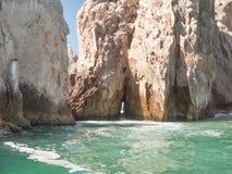 Estremità delle terre a Cabo San Lucas Fotografia Stock