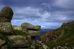 Estremità delle terre, Cornovaglia, Regno Unito Immagine Stock