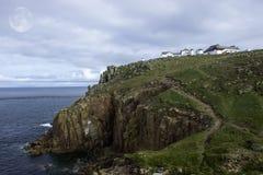 Estremità delle terre, Cornovaglia, Regno Unito Fotografia Stock
