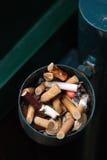 Estremità di sigaretta Fotografie Stock Libere da Diritti