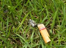 Estremità di sigaretta fotografie stock