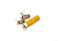 Estremità di sigaretta Fotografia Stock Libera da Diritti