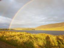 Estremità di un arcobaleno Fotografie Stock Libere da Diritti