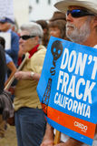 Estremità Fracking Fotografia Stock