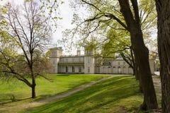 Estremità posteriore del parco al castello di Dundurn a Hamilton, SOPRA, il Canada fotografia stock libera da diritti