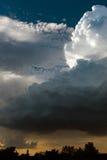 Estremo, tempo tempestoso in Germania Fotografia Stock Libera da Diritti