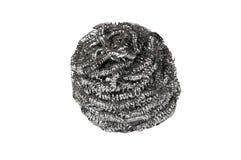 Estropajo de lanas del alambre Fotografía de archivo libre de regalías