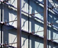 Estructura abstracta del edificio de oficinas, Imagenes de archivo